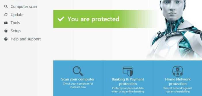 Best Antivirus software ESET Internet Security 10