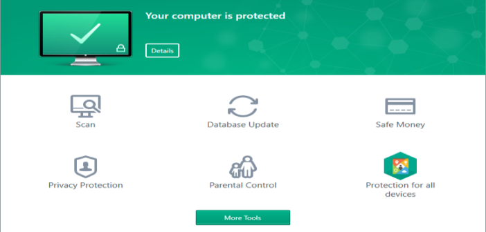 Best Antivirus software Kaspersky Total Security