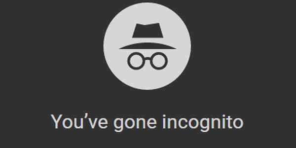 google chrome incognito is not reliable
