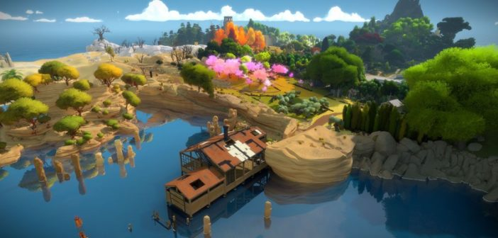 Best PS4 Games The Witness