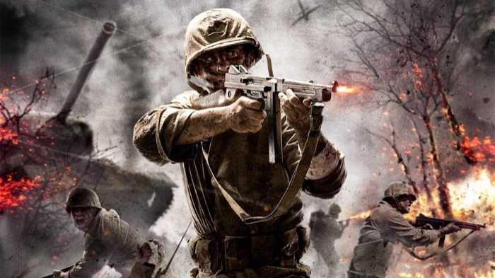 Best PS4 Games call-of-duty-wwii